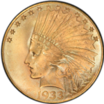 Indian Eagle Gold Coin 1933