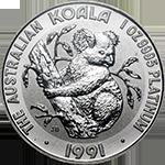 Australian Koala Platinum Coin