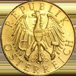 Gold Schilling Coin (Austria)