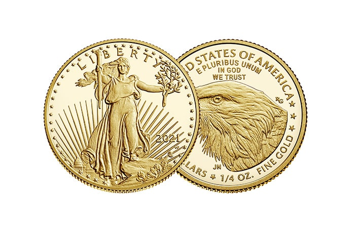 1/4 oz american eagle gold coin