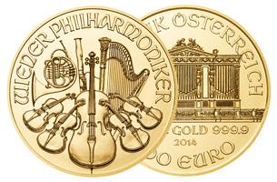1 oz vienna gold coin