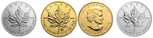 Candian Precious Metal Coins