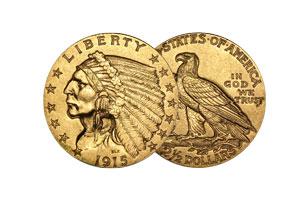 Indian Gold Quarter Eagle
