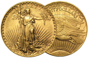 Saint Guade Gold Double Eagle Coin