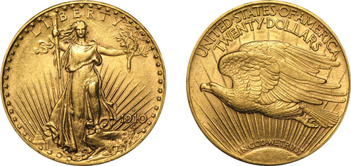 Saint Guade Eagle Gold Coin