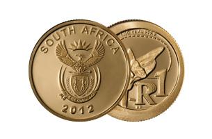 r1 gold coin 2012