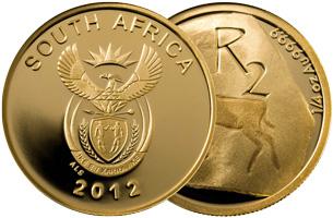 r2 gold coin 2012