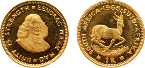 south african r1 gold coin