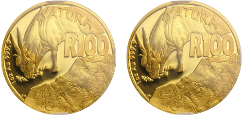 natura series gold coin