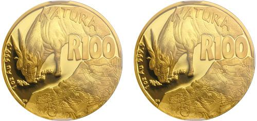 natura series gold coin