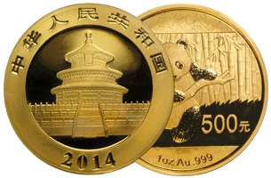 chinese gold coin 1 oz