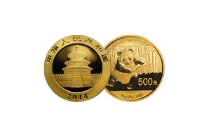 chinese gold panda tenth ounce