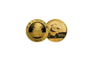 chinese gold panda 1/20 ounce