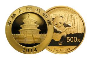 chinese gold panda half oz