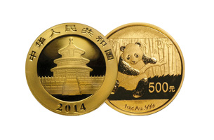 chinese gold panda quarter ounce