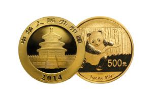 chinese gold panda quarter ounce