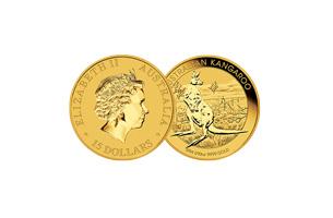 1/10 ounce australian kangaroo gold coin