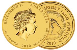 1 kg australian gold coin
