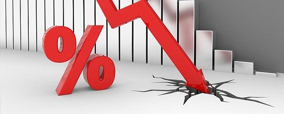 interest rates percentage