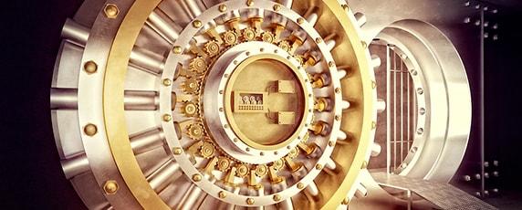 vault door for bank