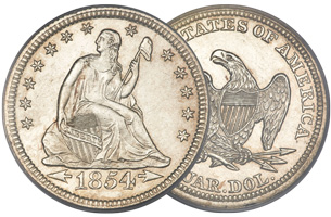 seated liberty quarter coin