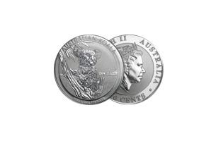 perth mint silver 1/10oz australian koala coin