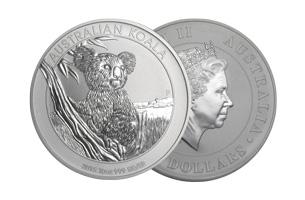 perth mint silver 10oz australian koala coin