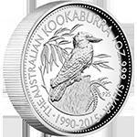 Australian-Kookaburra-Silver-Coin