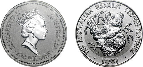 australian-platinum-koala-coin