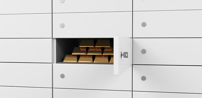 gold bullion storage
