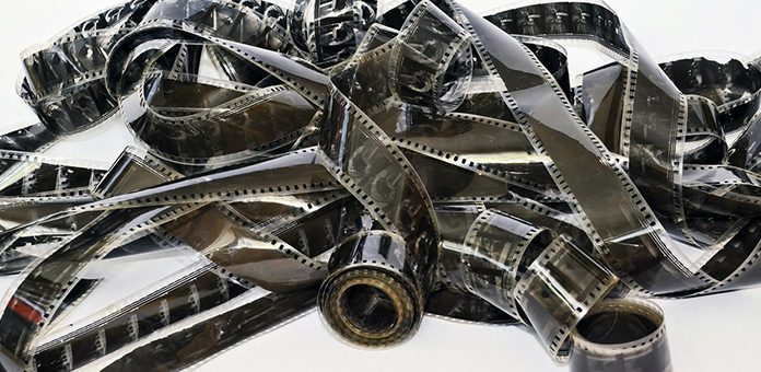 silver scrap film