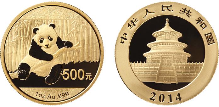 30 gram gold panda coin